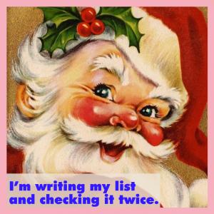 Vintage Image of Santa